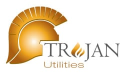 Trojan Utilities Logo Supply Chain Management Paul Trudgian Ltd
