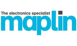 Maplin Electronics Specialist Logo Paul Trudgian Supply Chain and Logistics Consultancy