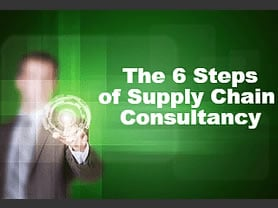 6 Steps of Supply Chain Consultancy Paul Trudgian Supply Chain and Logistics Consultancy